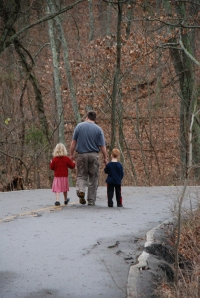 father-and-children-walking1