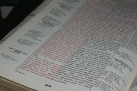 Set the goal of reading through the Bible in 2014
