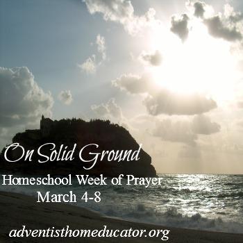 Homeschool Week of Prayer