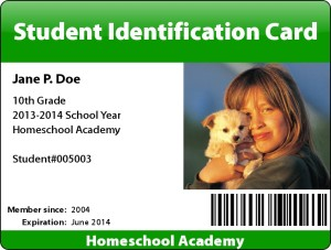 sample ID card