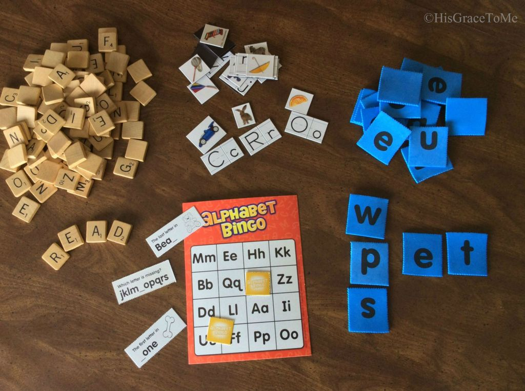 Phonics manipulatives
